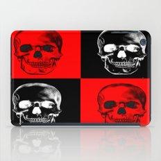 Red/Black SKULL iPad Case