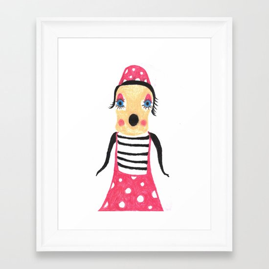 Inaccurate Shapeshifter Framed Art Print
