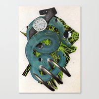 Quantime | Collage Canvas Print