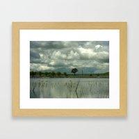 Wet Season Framed Art Print