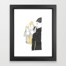Call Girls Framed Art Print