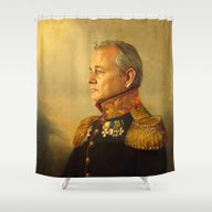 Bill Murray - Replacefac… Shower Curtain