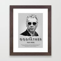 The Godfather - Part Thr… Framed Art Print