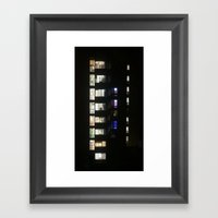 Vertical View Framed Art Print