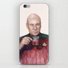Tea. Earl Grey. Hot. Captain Picard Star Trek | Watercolor iPhone & iPod Skin