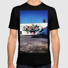 Culver City Graffiti Mens Fitted Tee Black SMALL