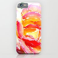iPhone Cases featuring Pink Rose by Regan's World