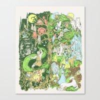 Sinister Dexter Canvas Print