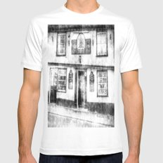 The Coopers Arms Pub Rochester Vintage Mens Fitted Tee White SMALL