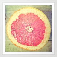 Grapefruit!  Art Print