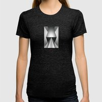 Next Womens Fitted Tee Tri-Black SMALL