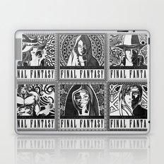 Final Fantasy Job Geek Art Poster Laptop & iPad Skin