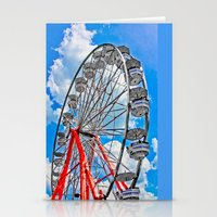 Red, White & Blue Ferris… Stationery Cards