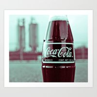 Urban Cola Art Print