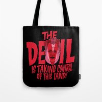 The Devil and Lee Bright  Tote Bag