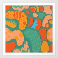 Amazing Things Will Happ… Art Print