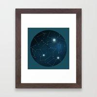 Hemisphere 1 Framed Art Print