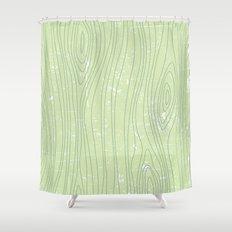 Woody Shower Curtain