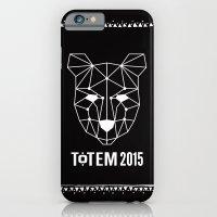 Totem Festival 2015 - White & Black iPhone 6 Slim Case