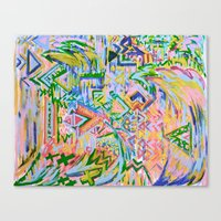 Colorz Of Ze Wind Canvas Print