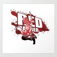 Forever Red Art Print