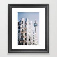 City Of Future Framed Art Print