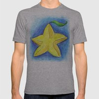 Paopu Fruit Mens Fitted Tee Athletic Grey SMALL