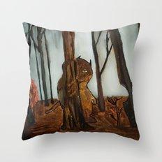 the wild unknown  Throw Pillow