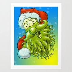 Happy Christmas! Art Print