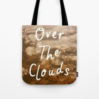 Tote Bag featuring Clouds by AA Morgenstern