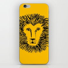 Heart of a Lion iPhone & iPod Skin