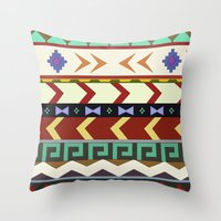 Dreamwalker Pattern Throw Pillow
