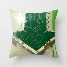 Urban Abstract 102 Throw Pillow
