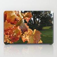 Autumn Grape Leafs iPad Case