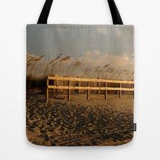 sandy beach Tote Bag