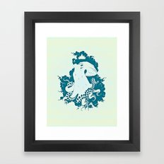 Octopus Rex 02 Framed Art Print