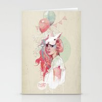 Sweet Party Stationery Cards