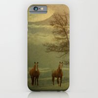 iPhone & iPod Case featuring A Winters Evening by TaLins