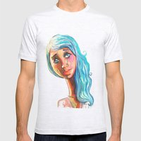 She'd Be Standing Next T… Mens Fitted Tee Ash Grey SMALL