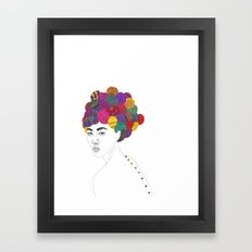 Fashion Illustration 3  Framed Art Print