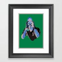 Neymar - IBWM - The 100 Framed Art Print