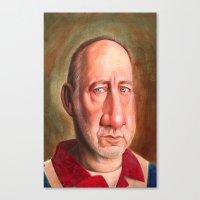 Naked Eye- Pete Townsend Canvas Print