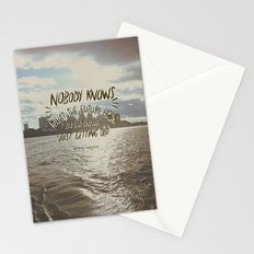Nobody Knows Stationery Cards
