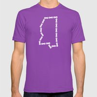 Ride Statewide - Mississ… Mens Fitted Tee Ultraviolet SMALL