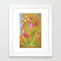 Bloomer Framed Art Print