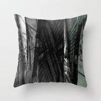 Incongruous like aspiring via acts of desperation. [D] Throw Pillow