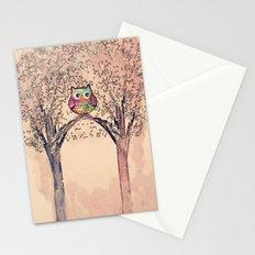 owl-942 Stationery Cards