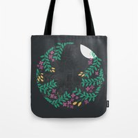 Tote Bag featuring Quiet Night by Wild Notions