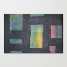 Light behind Black Canvas Print