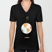 Fill your world with colors Unisex V-Neck